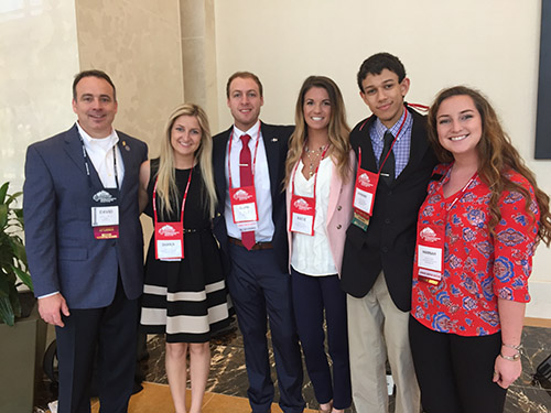 ECU Students at World Conference